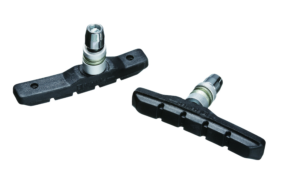 Jobsworth V-Brake Shoes 72mm  Asymmetric