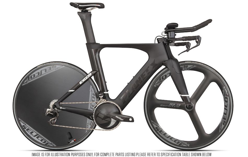 Planet X Exo3 Time Trial Bike SRAM Red Etap Edition | Planet X