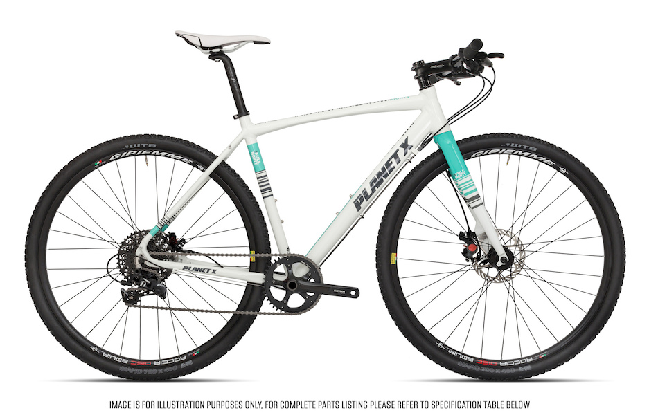 Planet X Full Monty SRAM Apex 1 Flat Bar Gravel Bike | Planet X