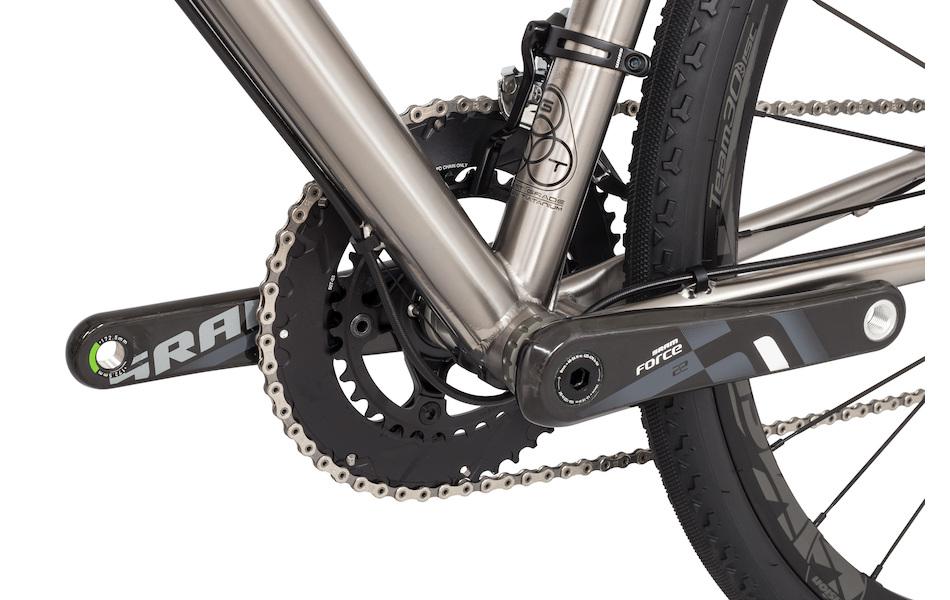 Planet X Tempest Titanium Gravel Road Bike Sram Force 22 HDR 650B Wheel