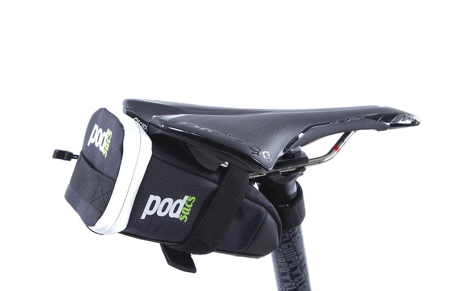 PODSACS Small Saddle Bag With Tray