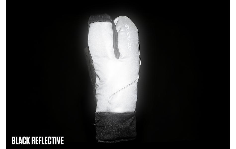 Carnac Reflective Waterproof Crab Hand Winter Gloves