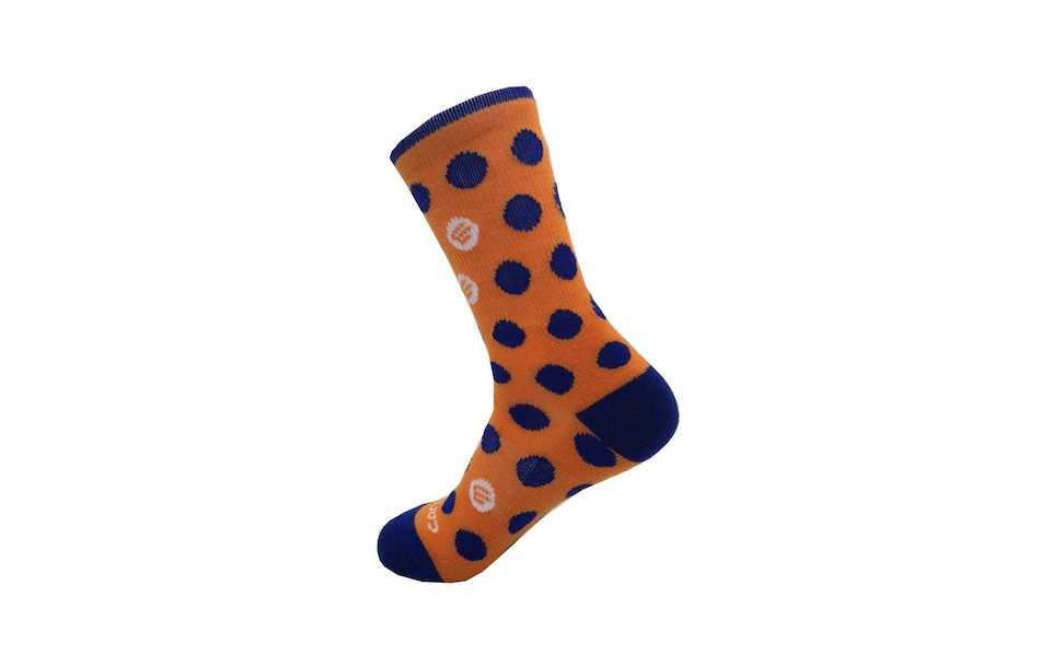 Carnac KOM Socks High Top Thicky Merino Cycling Socks