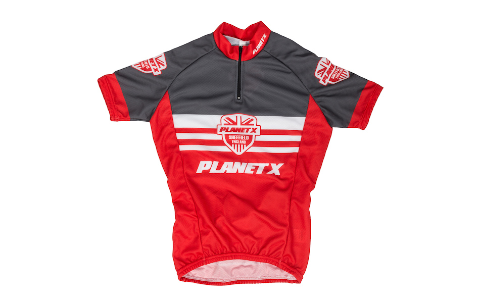 Planet X Shield Childrens Short Sleeved Jersey