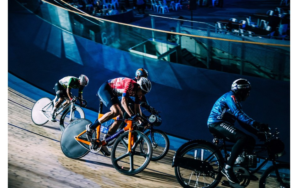 Holdsworth Roi De Velo Carbon Track Frameset
