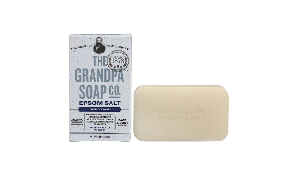 The Grandpa Soap Co Epson Salt Soap Bar