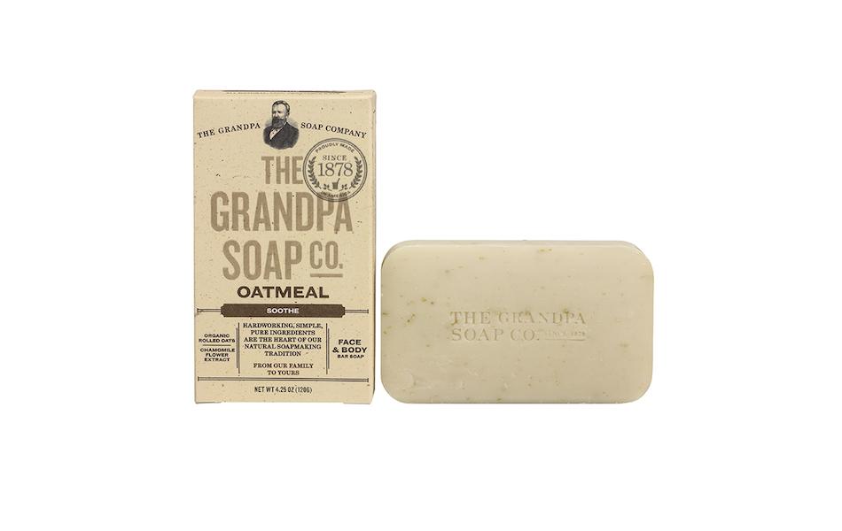 The Grandpa Soap Co Oatmeal Soap Bar