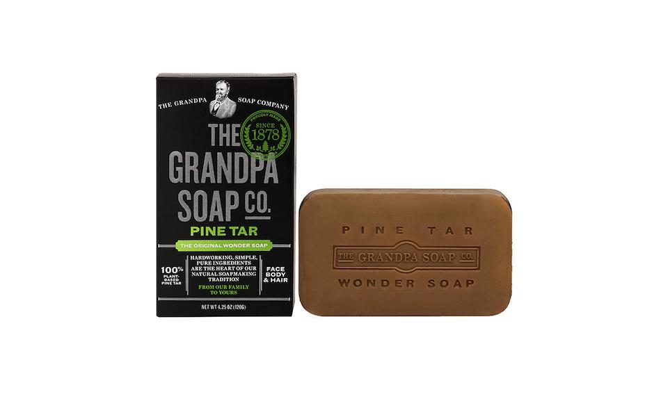 The Grandpa Soap Co Pine Tar Soap Bar