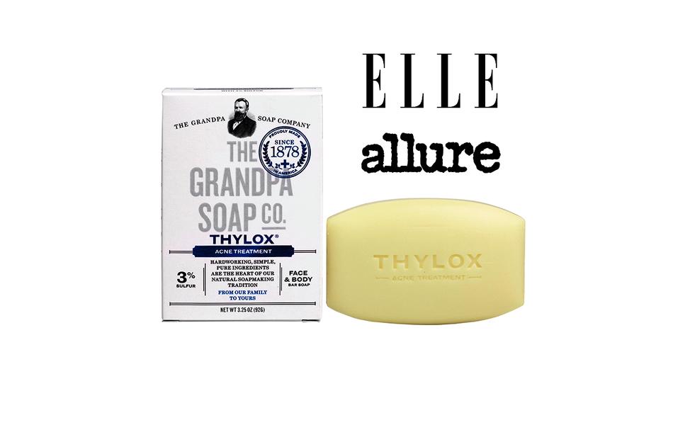 The Grandpa Soap Co Thylox Soap Bar