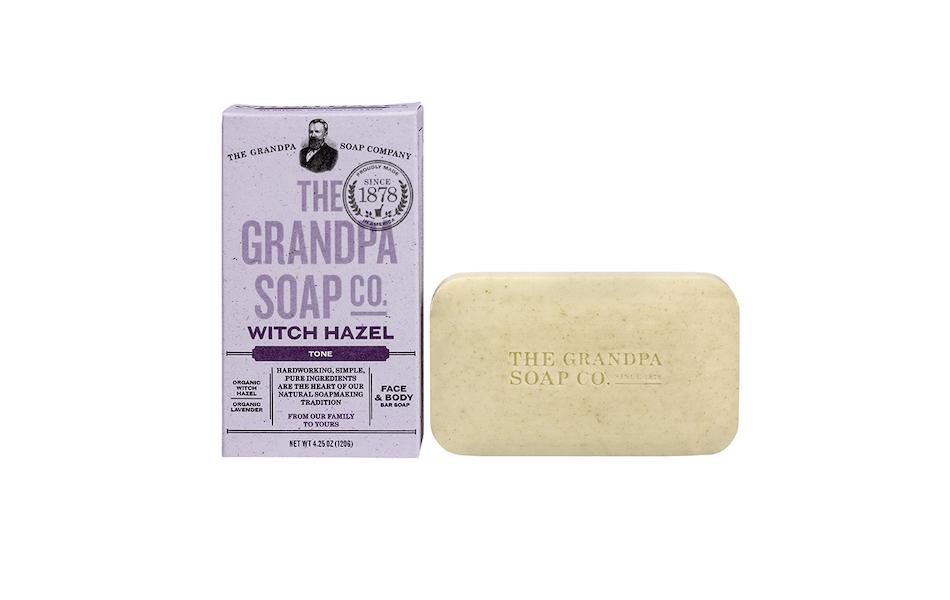 The Grandpa Soap Co Witch Hazel Soap Bar