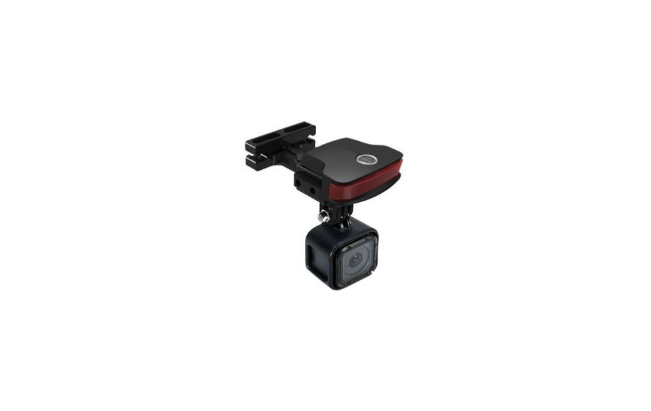 Guee B-Mount Light + Go Pro Adapter Black