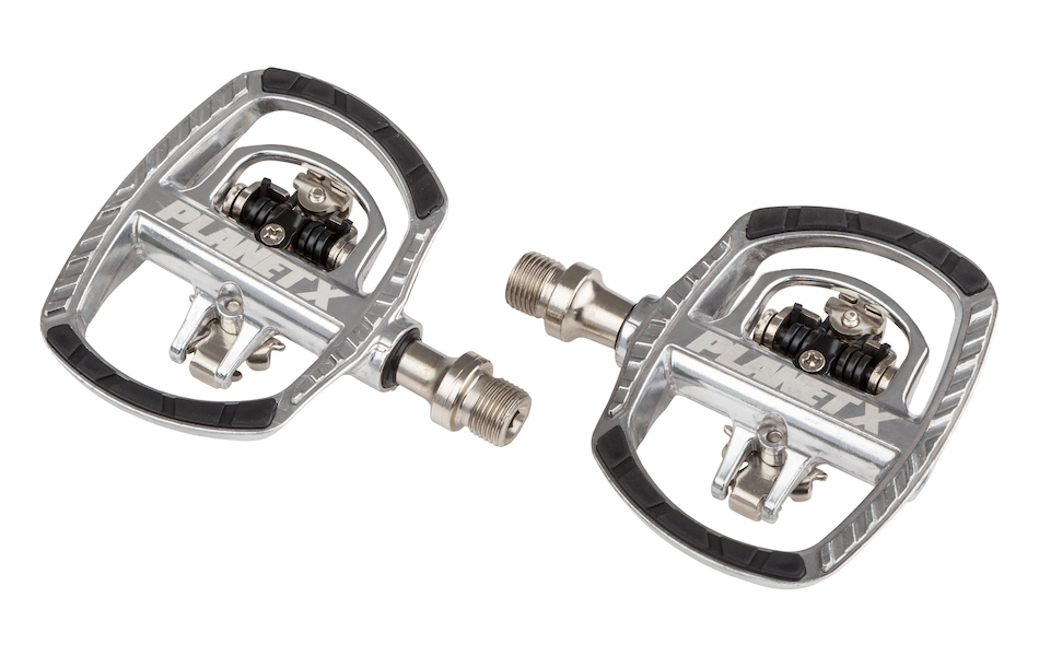 Planet X Flip Flop SPD-Flat Double Sided Pedals