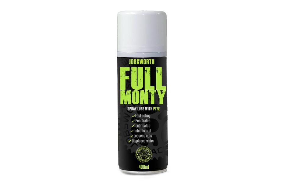 Jobsworth Full Monty Spray Lube + PTFE