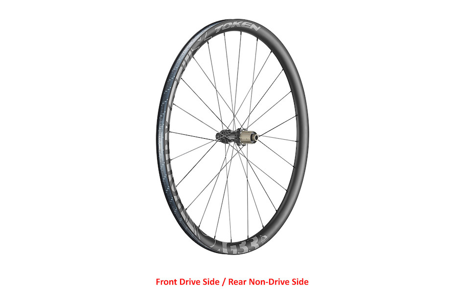 Token Prime Roubx Disc All-Road Carbon Wheelset / Shimano 11 Speed