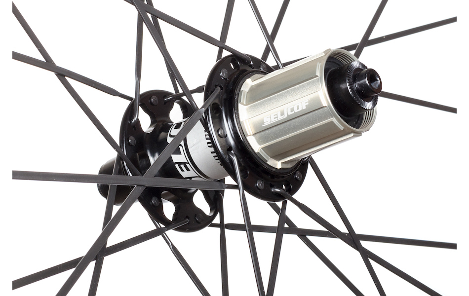 Selcof Delta 11spd 86mm Carbon Clincher Wheelset