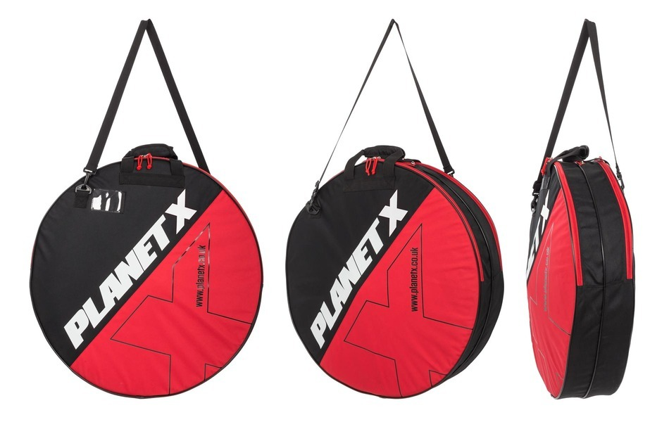 Selcof Ultra Disc and Ultra 0.3 Tri Spoke Front Wheel Bundle With Double Wheel Bag