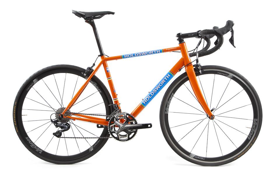 4cae0aad249 Holdsworth Competition Shimano Ultegra R8000 Road Bike Medium Team Orange  Used With New Components ...