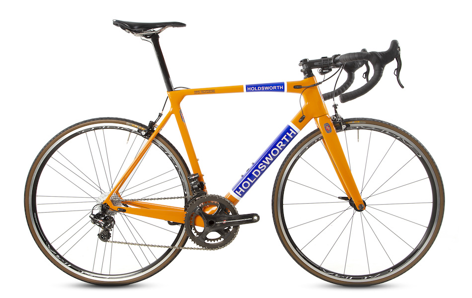 Holdsworth Super Professional Super Record EPS Road Bike / 54cm / Orange - Used